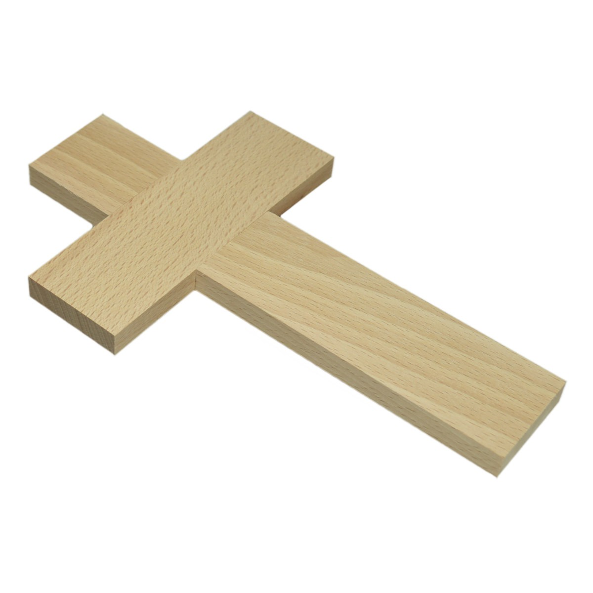 Blanko Holzkreuz - Wandkreuz, glatte Kanten - zum Basteln & Selbstgestalten 20cm