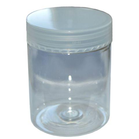5 PET Dosen mit Deckel zu je 250ml - transparent, glasklar – Bild 1