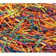 Bastelhölzer bunt 500g - Bastelhölzchen im Zündholz-Format ca. 4500 Stück Bild 2