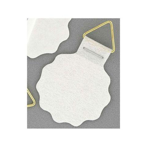 10 Bildaufhänger selbstklebend 30mm mit Dreiecks-Öse und Klebefläche – Bild 2
