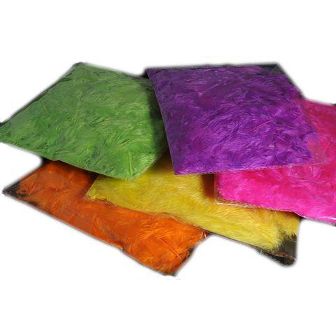 Federn Neonfarben - 5 Farben à 10g sortiert - Leuchtend bunte Federn zum Basteln – Bild 1