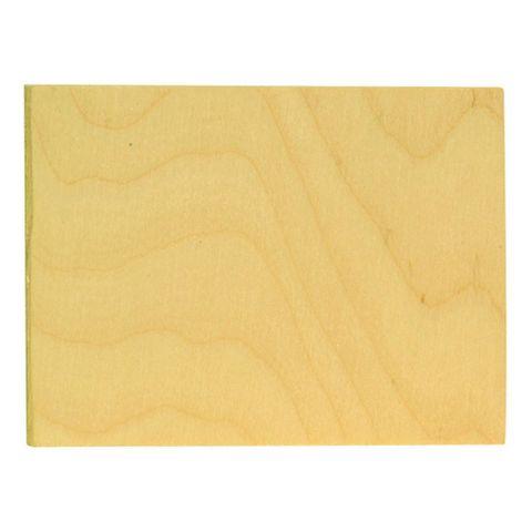 Sperrholzplatte 15x11,5cm zum Basteln und Herstellen von Laubsägearbeiten