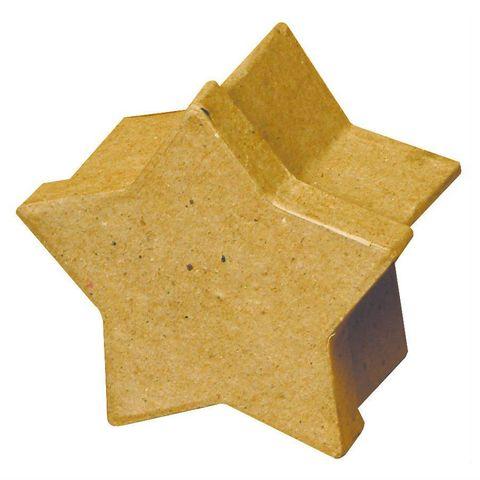 Stern Schachtel - Weihnachten Geschenkkarton Pappschachtel Sternbox, Ø 8cm – Bild 1