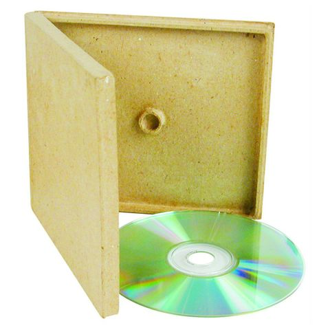 CD Verpackung Karton - Hülle Pappe Jewelcase-Format blanko zum Selbstgestalten