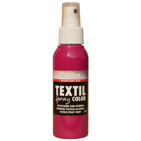 PICCOLINO Textil Spray - 100ml Pink - Textilfarbe zum Sprühen – Bild 1