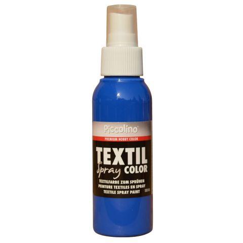 PICCOLINO Textil Spray - 100ml Blau - Textilfarbe zum Sprühen – Bild 1