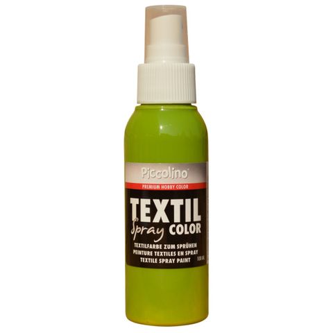 PICCOLINO Textil Spray - 100ml Kiwi - Textilfarbe zum Sprühen – Bild 1