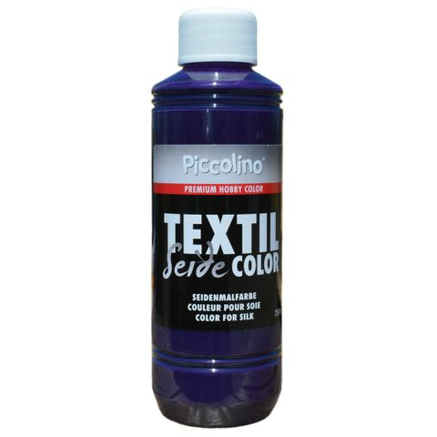 Seidenmalfarbe Violett 250ml - Seidenfarbe Piccolino Textil Color zum Malen - Textilfarbe Seide – Bild 1