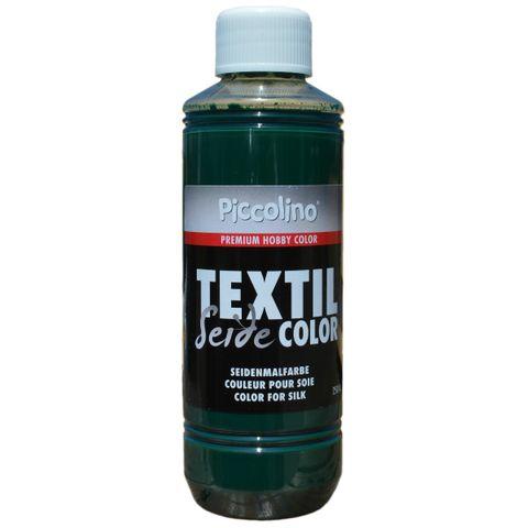 Seidenmalfarbe Moosgrün 250ml - Seidenfarbe Piccolino Textil Color - Textilfarbe Seide – Bild 1