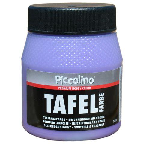 Tafelfarbe Flieder / Violett 250ml - Piccolino Tafellack bunt für Holz, Karton, Wand – Bild 1