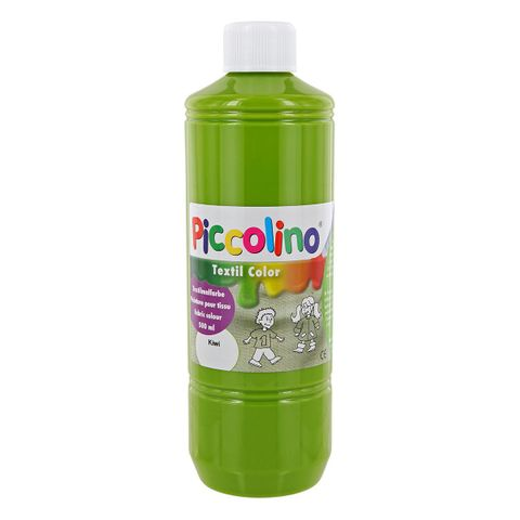 Textilfarbe kiwi 500ml - Stoffmalfarbe PICCOLINO Textil Color