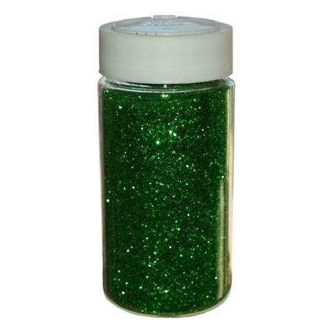 Glitter Grün Großpackung - 250g Streudose - Deko Glitzer/Glimmer zum Basteln – Bild 1