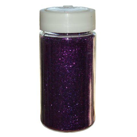 Glitter Lila Großpackung - 250g Streudose - Deko Glitzer/Glimmer zum Basteln – Bild 1