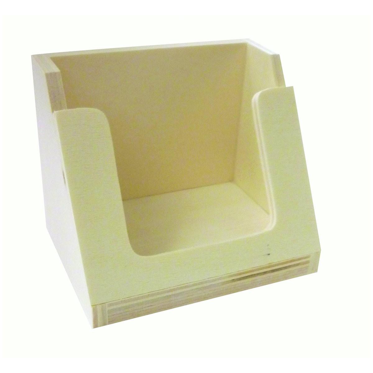 handyhalter holz natur zum selbstgestalten bemalen 8x6x6 5cm. Black Bedroom Furniture Sets. Home Design Ideas