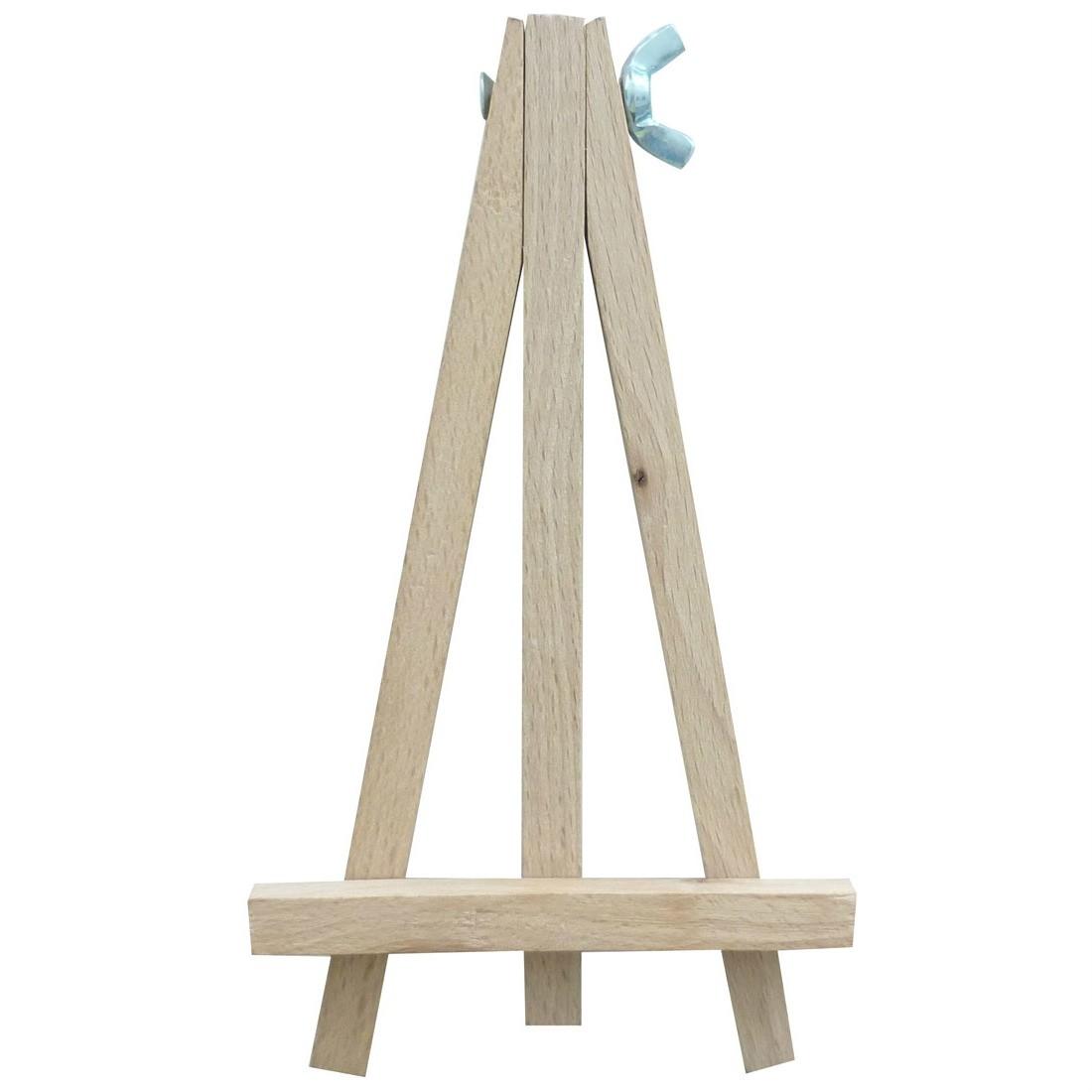 Tischkartenhalter Menükartenhalter Staffelei Holz 15cm - Tischdeko ...
