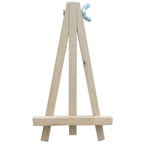Tischkartenhalter Menükartenhalter Staffelei Holz 15cm - Tischdeko Hochzeit