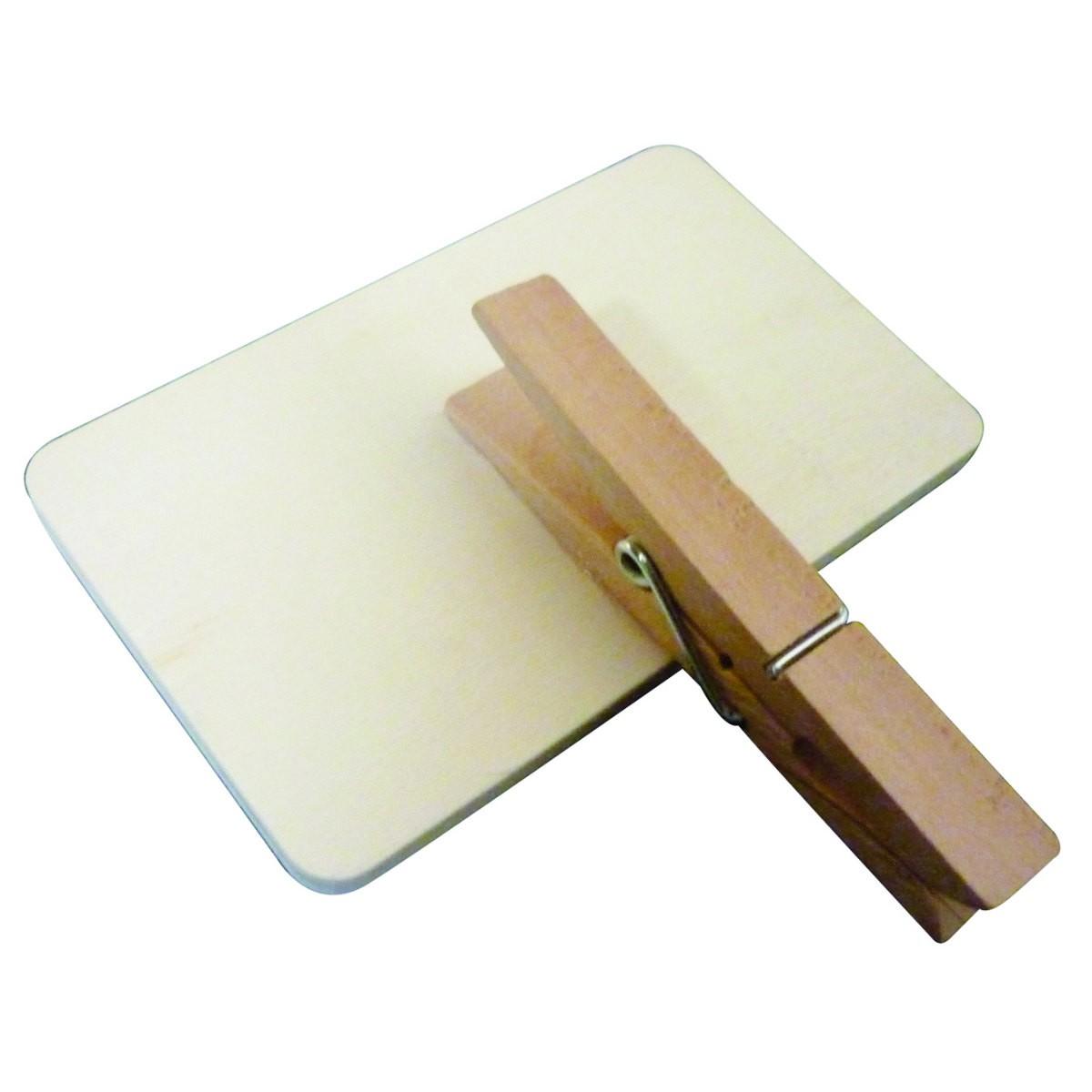 6x tischkarten platzkarten tafel auf klammer 9x5 5cm f r hochzeit feste. Black Bedroom Furniture Sets. Home Design Ideas