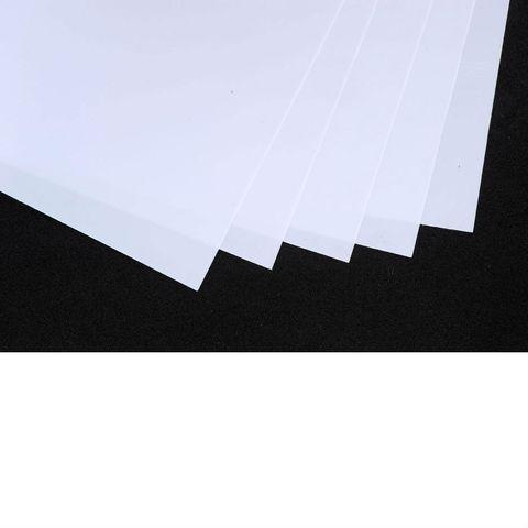 10 Schrumpffolien weiß mattiert 20x30cm zum Basteln – Bild 1