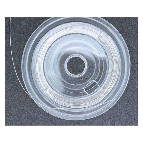 Schmuck-Draht nylonummantelt 0,38mm silbern 10m – Bild 2