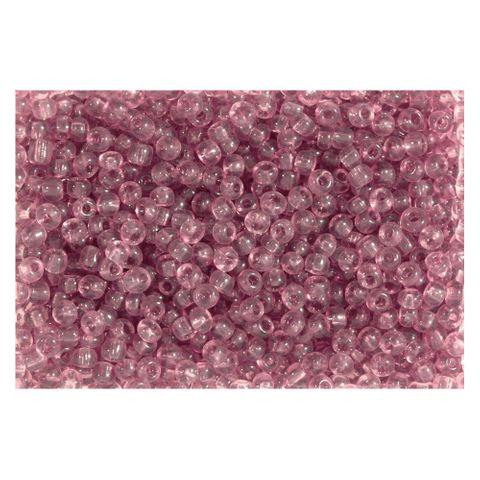 Rocailles Perlen transparent 2,5mm (9/0), amethyst - 1kg (ca. 40.000 Stück)