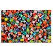 Chevron Perlen - Glasperlen-Mix bunt, rund & oval - 1kg Großpackung
