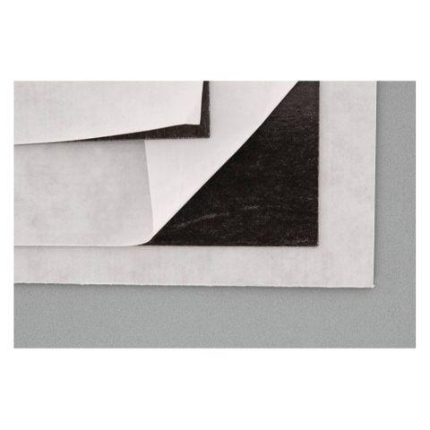 Magnetplatte selbstklebend, Stärke 0,6 mm, 200 x 300 mm, schwarz