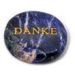 Stein Handschmeichler Danke - Edelstein Sodalith - Ø 4cm 001