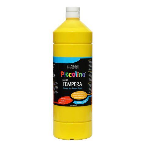 Piccolino Ready Mix Schultempera Farbe Primärgelb 1000 ml