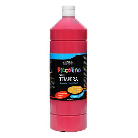 Piccolino Ready Mix Schultempera Farbe Primärrot 1000 ml