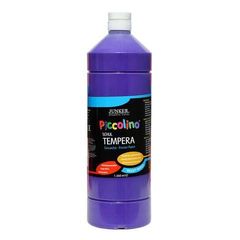 Piccolino Ready Mix Schultempera Farbe Violett 1000 ml