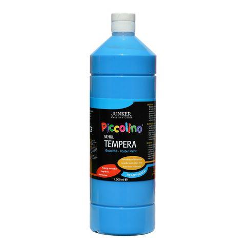 Piccolino Ready Mix Schultempera Farbe Primärblau 1000 ml