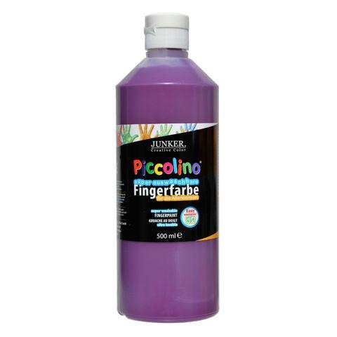 Piccolino Fingerfarbe 500ml Violett, super auswaschbar & abwaschbar