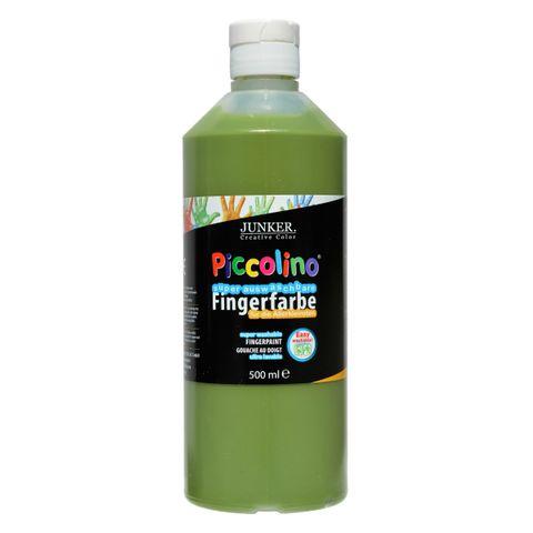 Piccolino Fingerfarbe 500ml Grün, super auswaschbar & abwaschbar