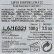 Lavendelseife Savon de Marseille 100g in Nostalgie-Blechdose, aus Frankreich Provence Bild 3
