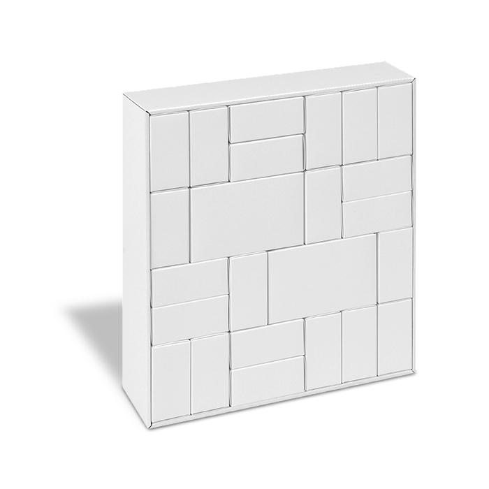 calendrier de l 39 avent blanc remplir et colorier soi. Black Bedroom Furniture Sets. Home Design Ideas