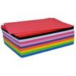 50 Stk Moosgummiplatten A4 Moosgummi-Set 10 Farben à 5 Stück 22x30cm x 2mm