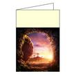 Couvertures Pâques - Tombeau vide A4/A5, lot de 100 - pour feuilles paroissiales 001