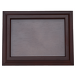 Cadre en bois, cadre photo bois / verre, châtaignier brun foncé 16x21cm / 11x15,5cm