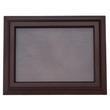 Bilderrahmen Holz / Glas, Kastanie dunkelbraun, 16x21cm / 11x15,5cm