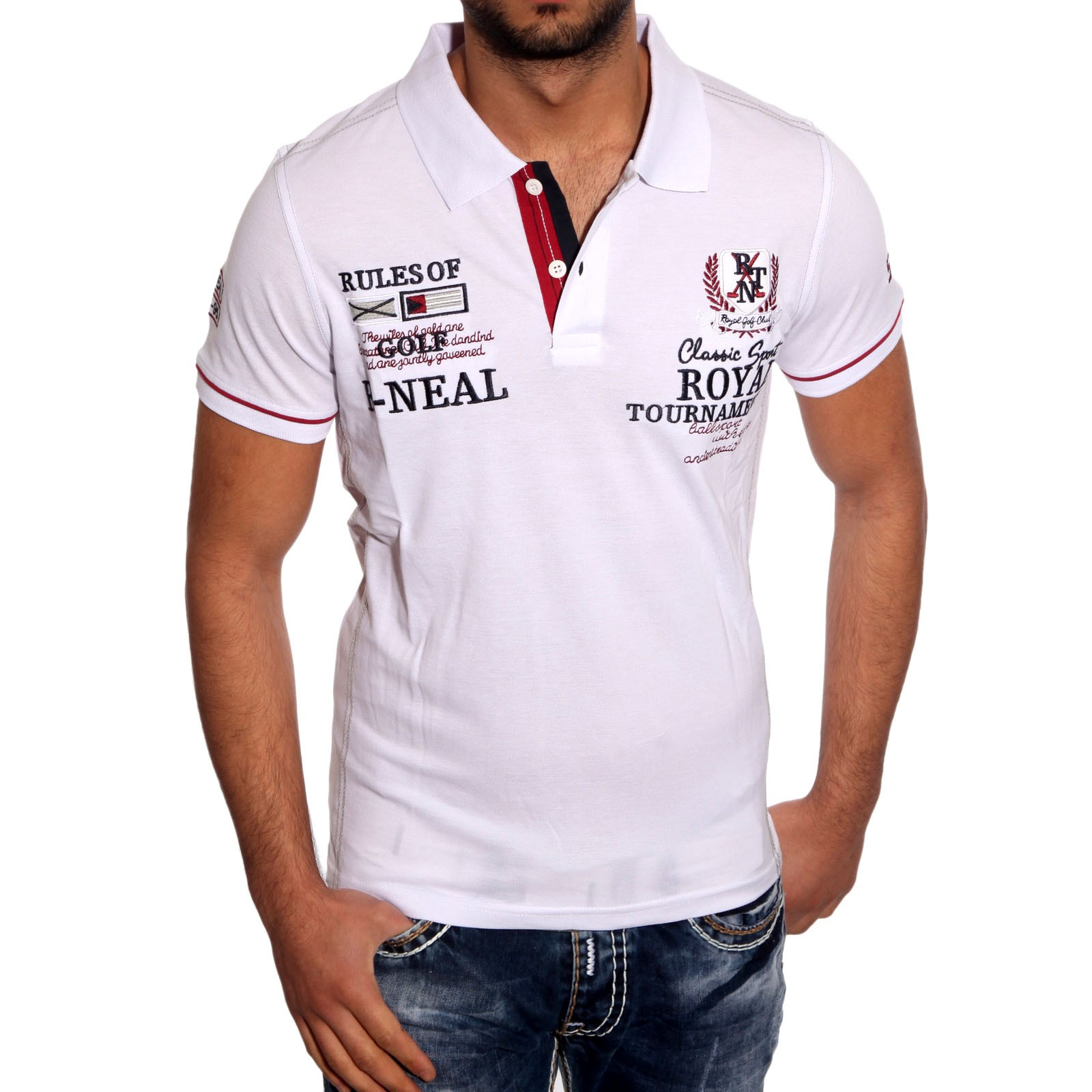 Poloshirt 6616 R-Neal