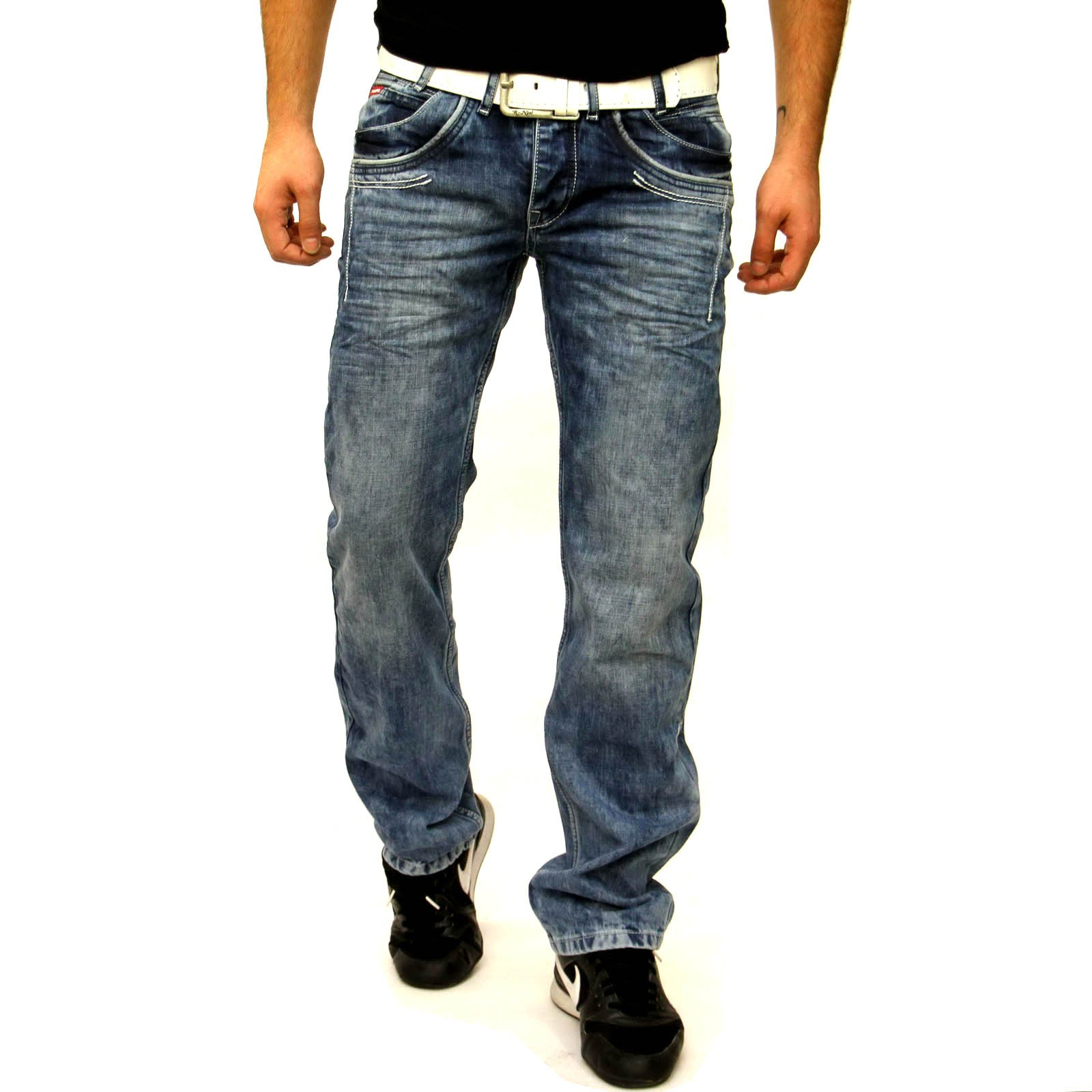Herren Jeans Hose 7545 Rusty Neal
