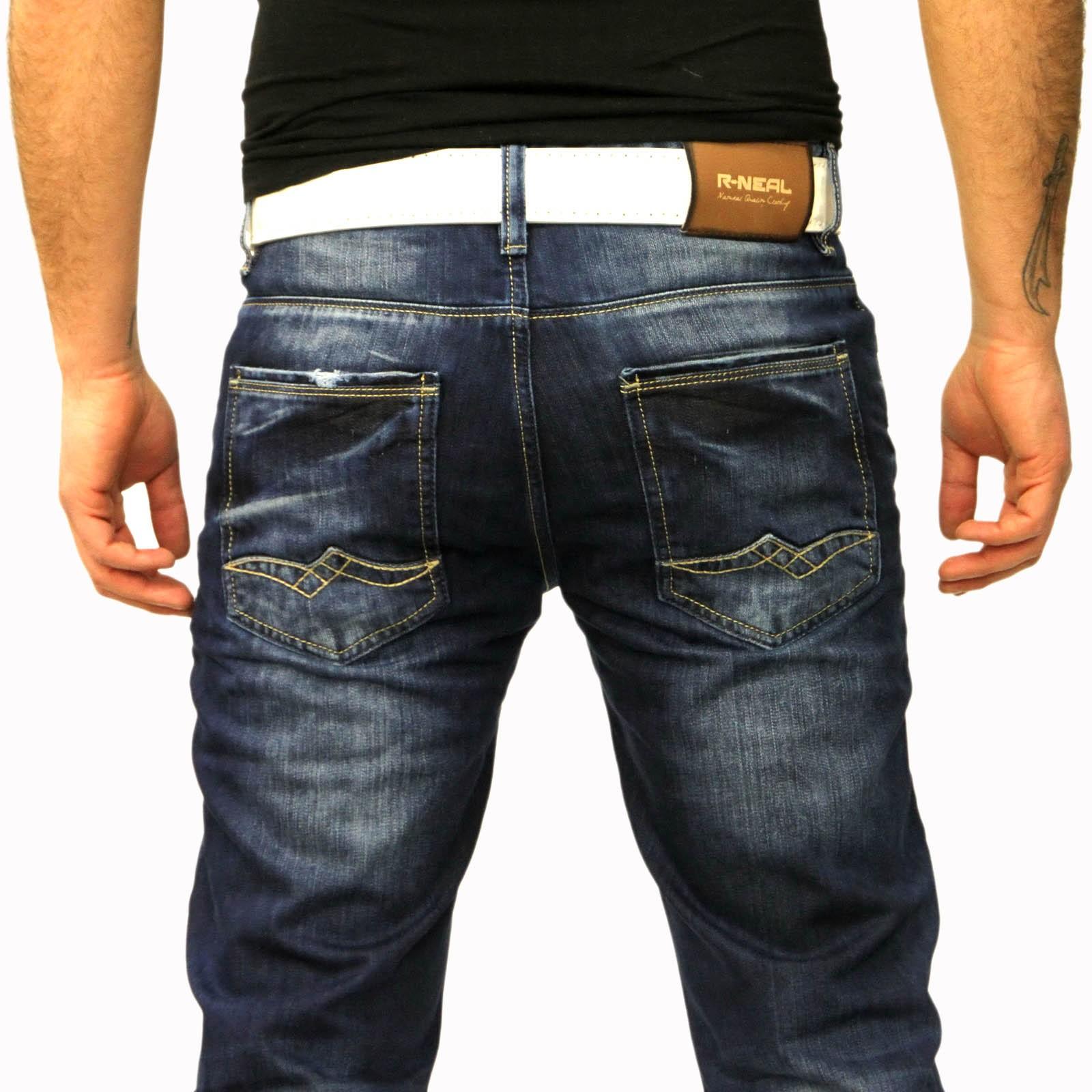 Herren Jeans Hose 7591 Rusty Neal