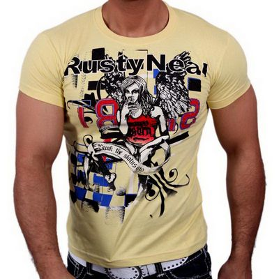 T-Shirt 3391 Strass Style Rusty Neal