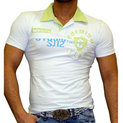 T-Shirt 816 Hellblau Rusty Neal