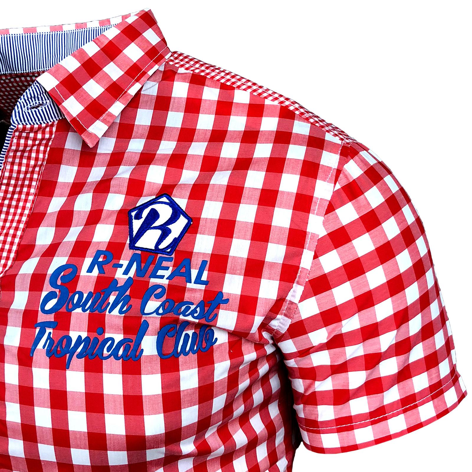 Hemd Karo 8220 Rot R-Neal Shirt Herren