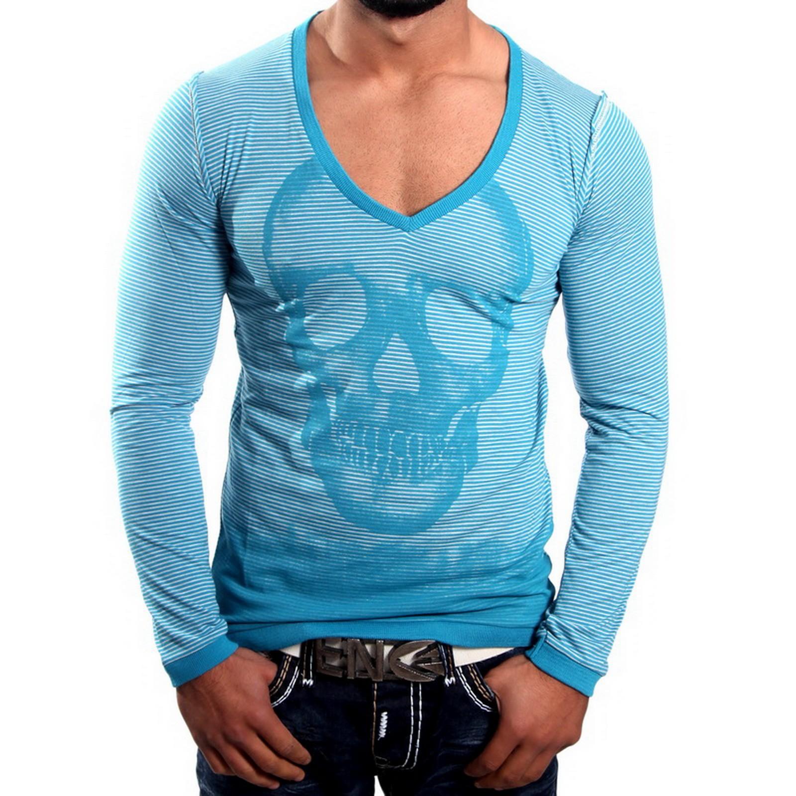Longshirt Blau 5303 R-Neal