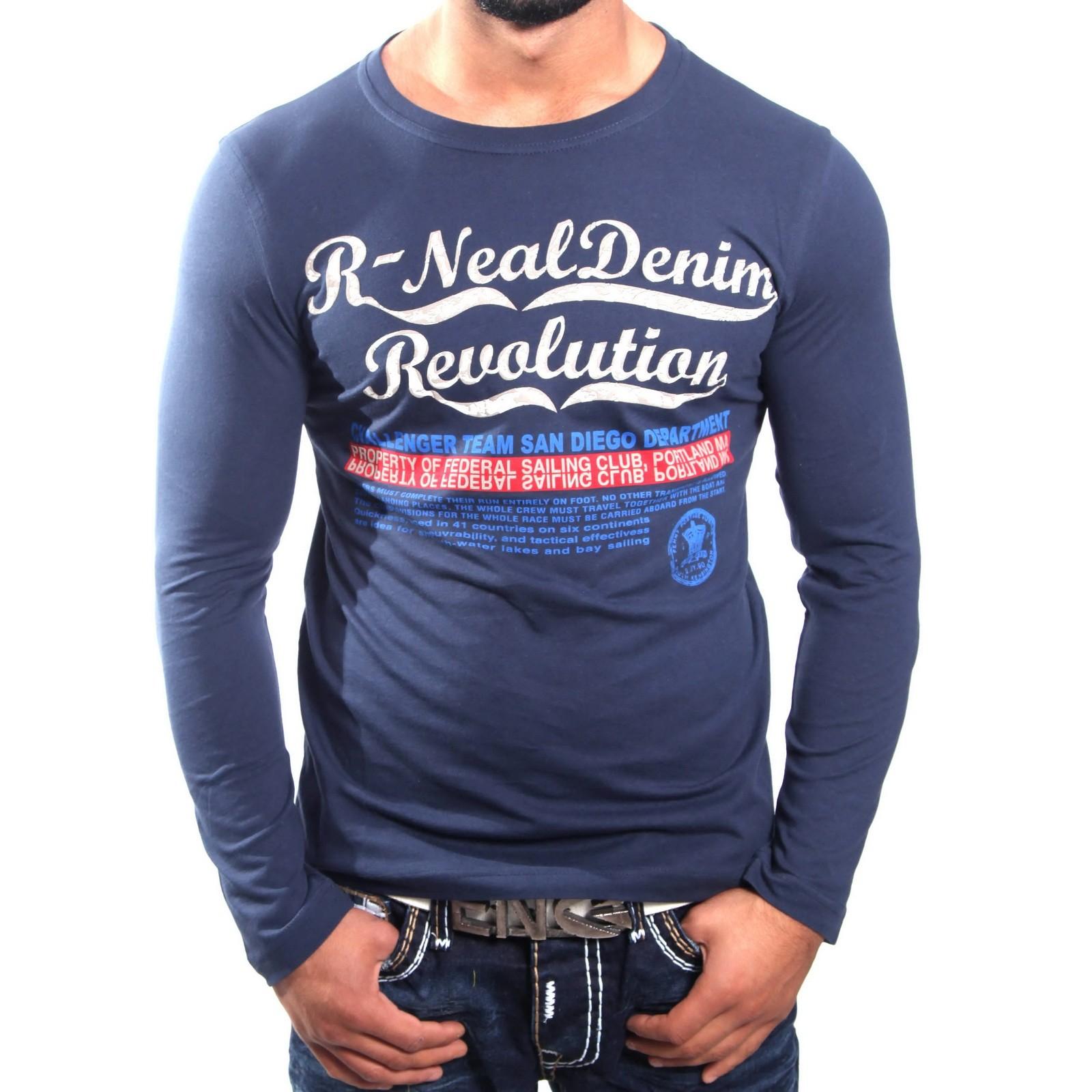 Longshirt Blau 5305 R-Neal