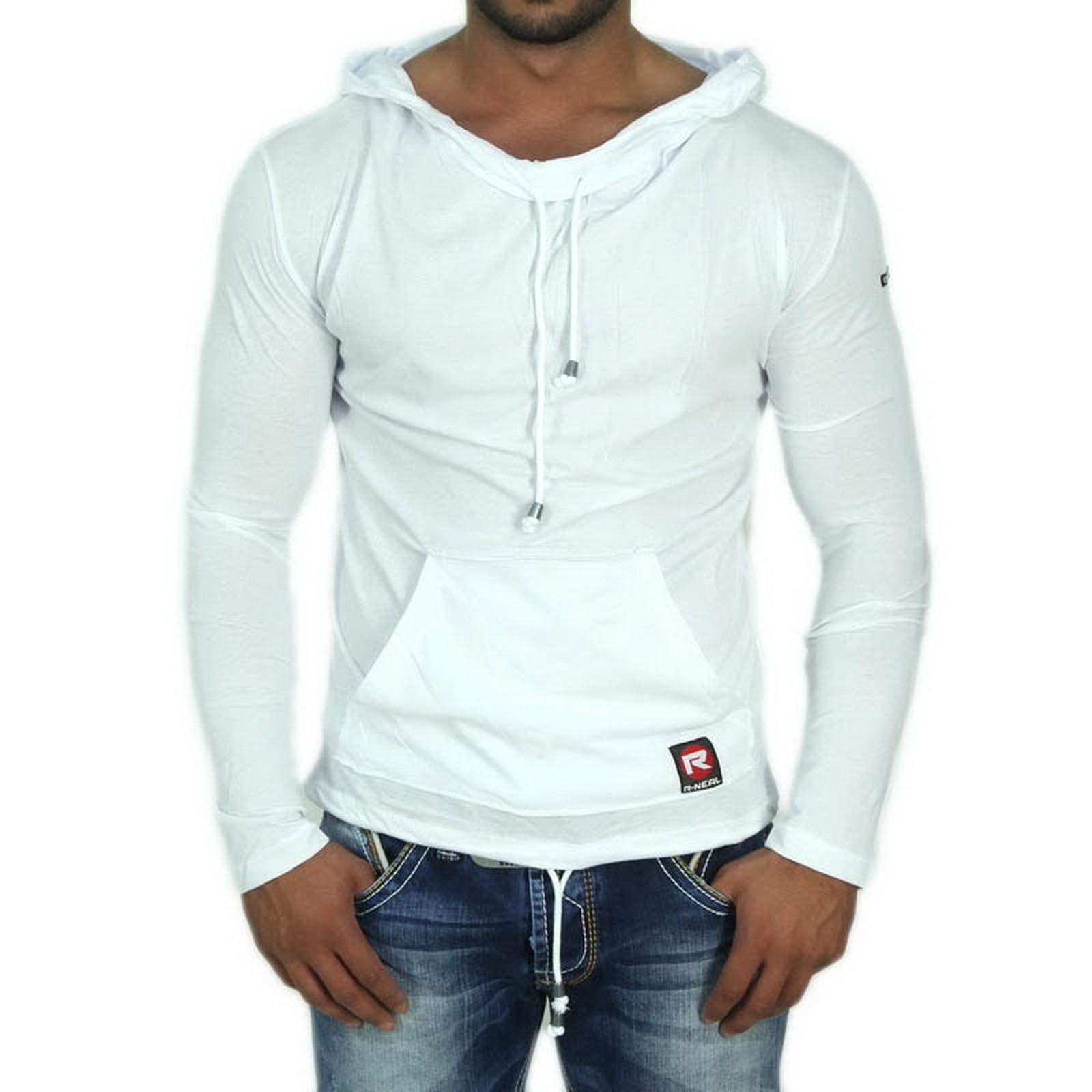 longshirt weiss 6533 r neal herren t shirts langarm. Black Bedroom Furniture Sets. Home Design Ideas