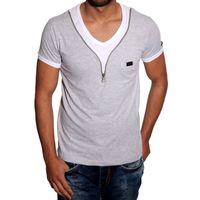 T-Shirt Grau 6665 R-Neal 001