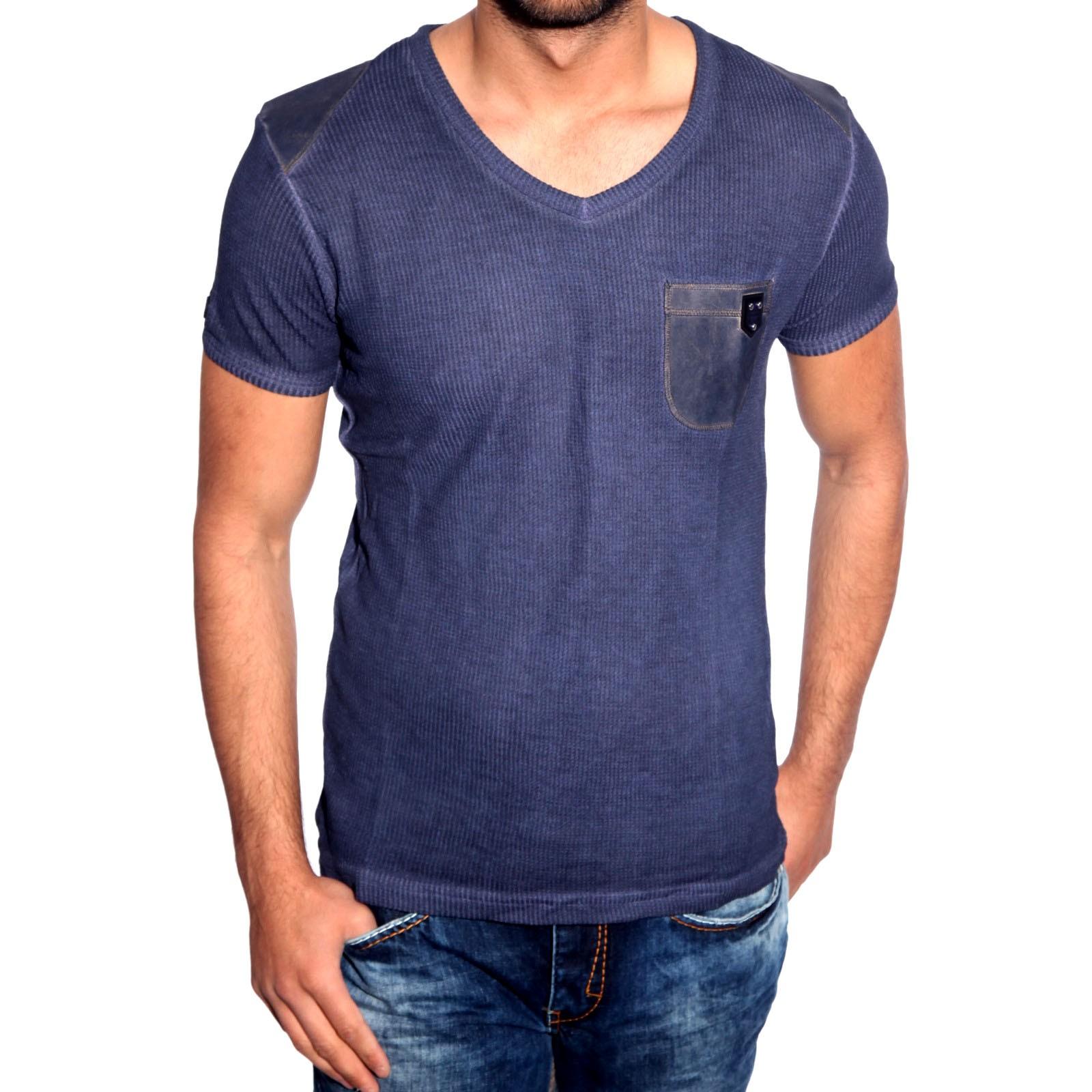 T-Shirt Blau 6674 R-Neal